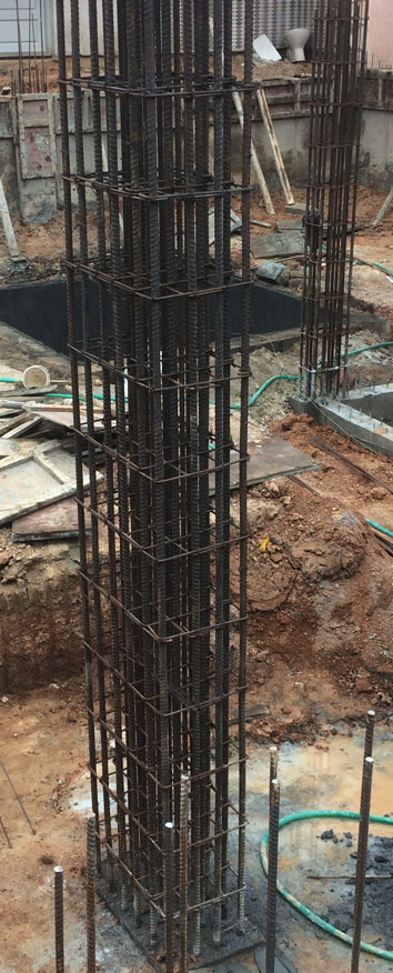 RCC Column Construction Methods